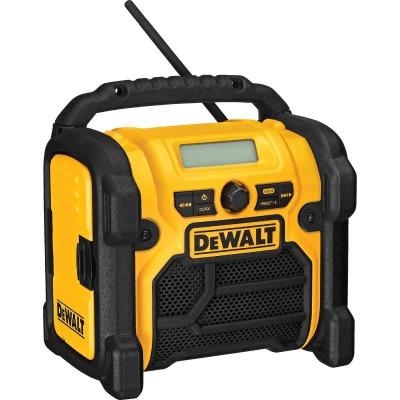 DeWalt 18/20/12 Volt Compact Nickel Cadmium/Lithium-Ion Cordless Jobsite Radio (Bare Tool)