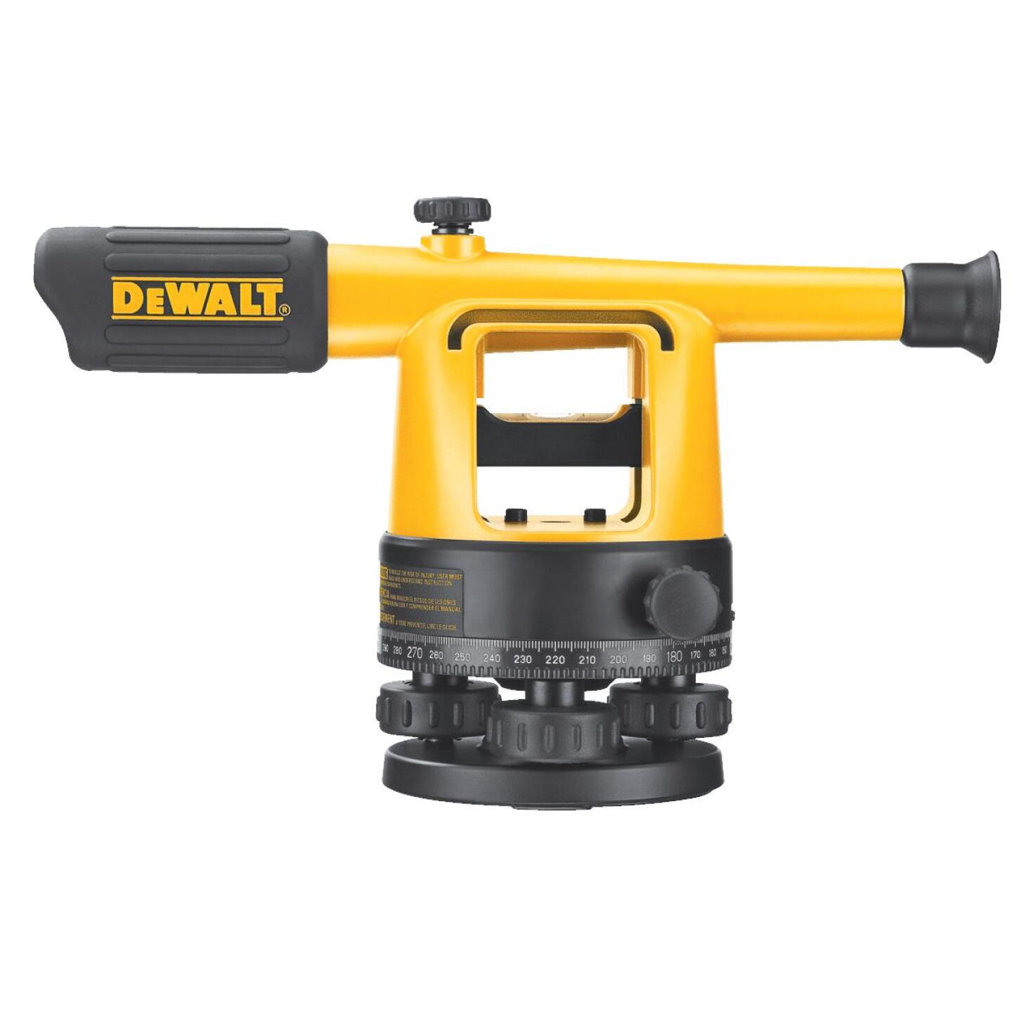 Dewalt 20x Magnifying Manual Sight Level Image 2