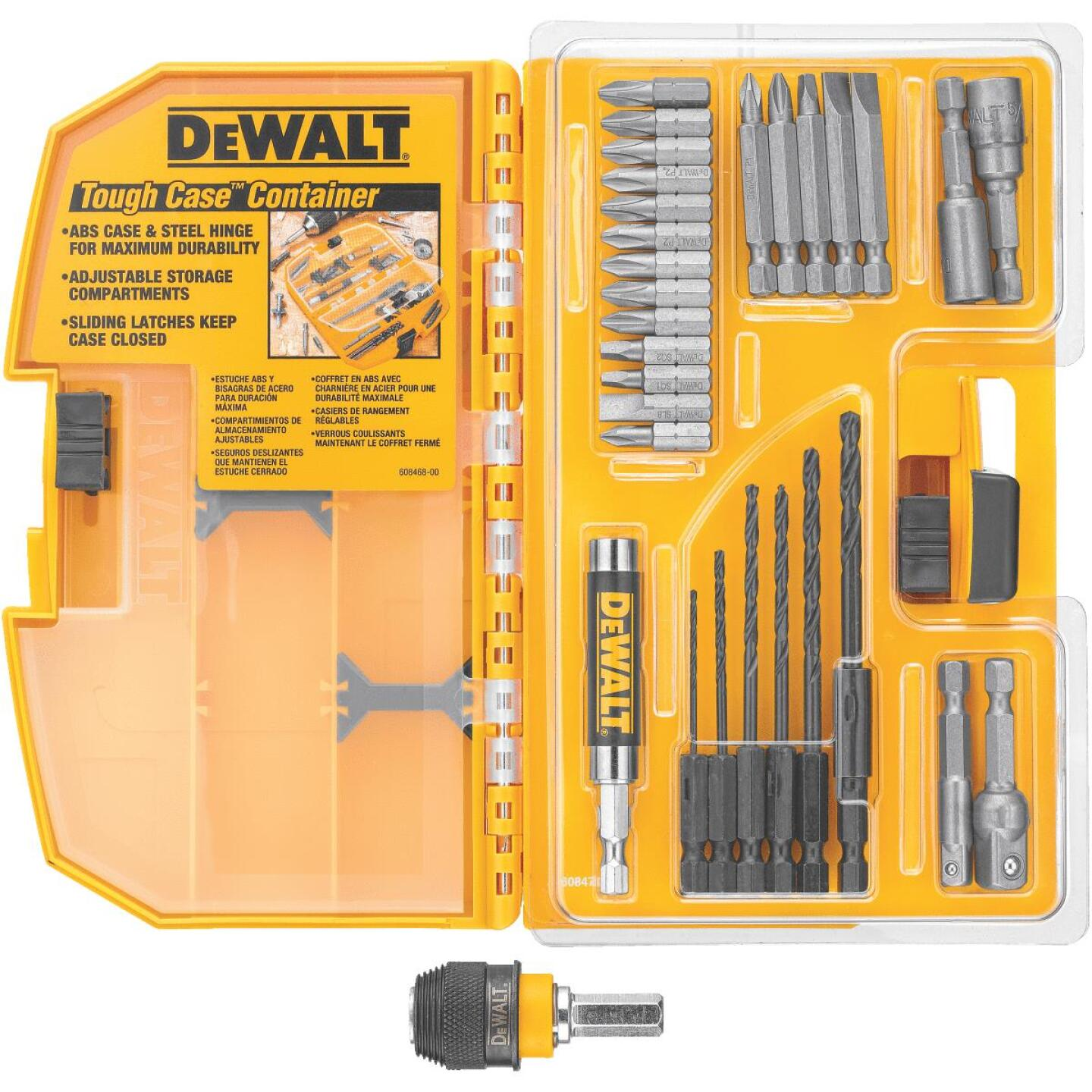 DeWalt 30-Piece Rapid Load Drill and Drive Set Image 1