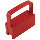 Master Magnetics 2 in. 3/4 in. 1 in. Handle Magnet Image 1