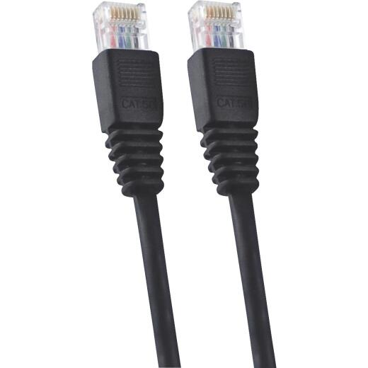 GE Black 14 Ft. Ethernet Cable