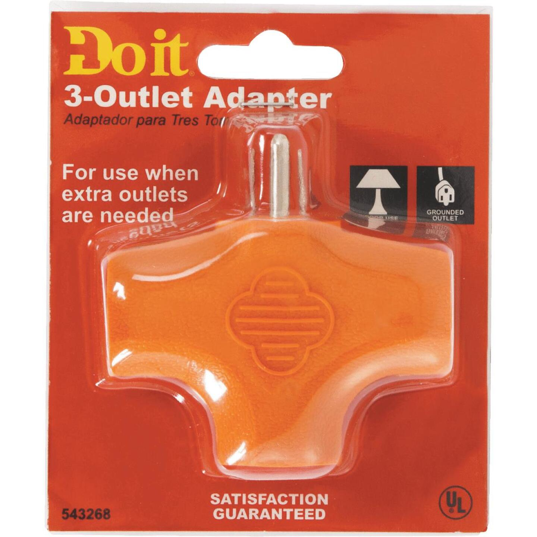 Do it Orange 15A 3-Outlet Tap Image 2
