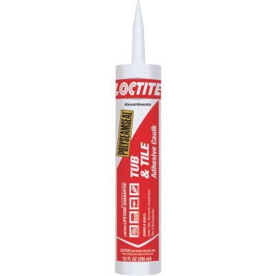 LOCTITE POLYSEAMSEAL 10 Oz. Almond Kitchen & Bath Caulk