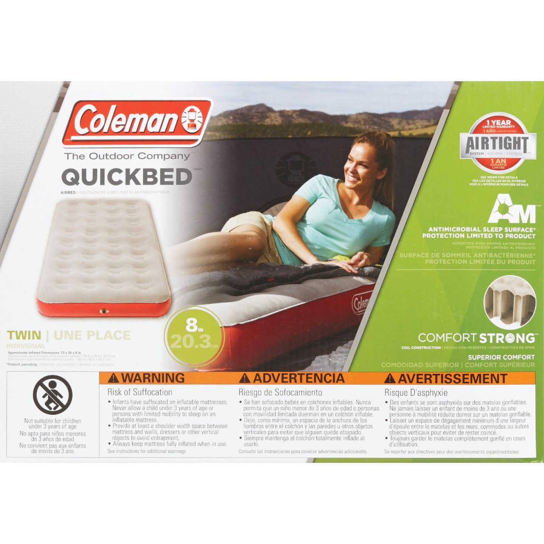 Coleman Single High Quick Air Mattress, Twin Image 3
